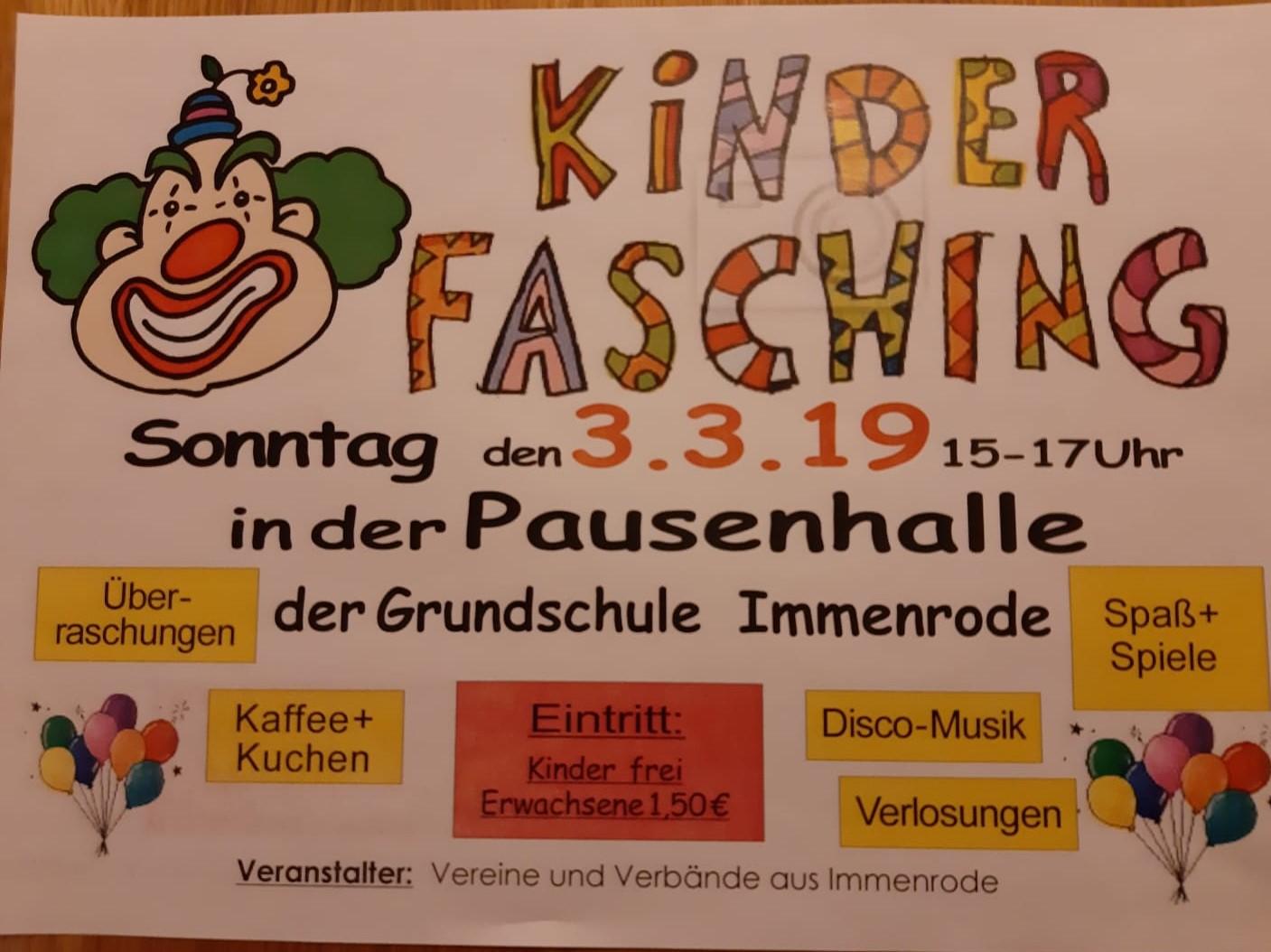 Kinderfasching2019